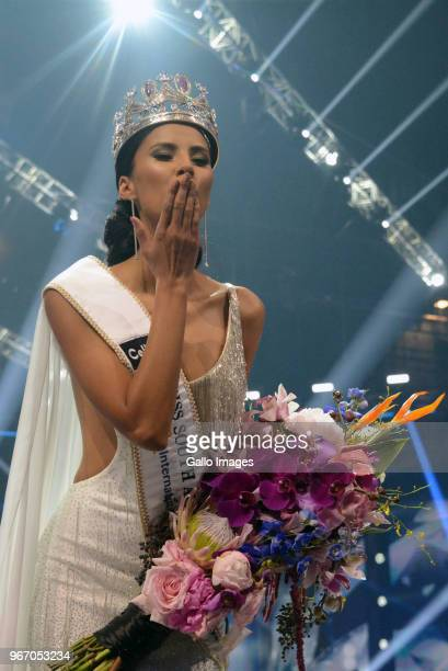 Miss SA 2018 Tamaryn Green during the Miss SA 2018 beauty pageant grand finale at the Time Square Sun Arena on May 27 2018 in Pretoria South Africa...