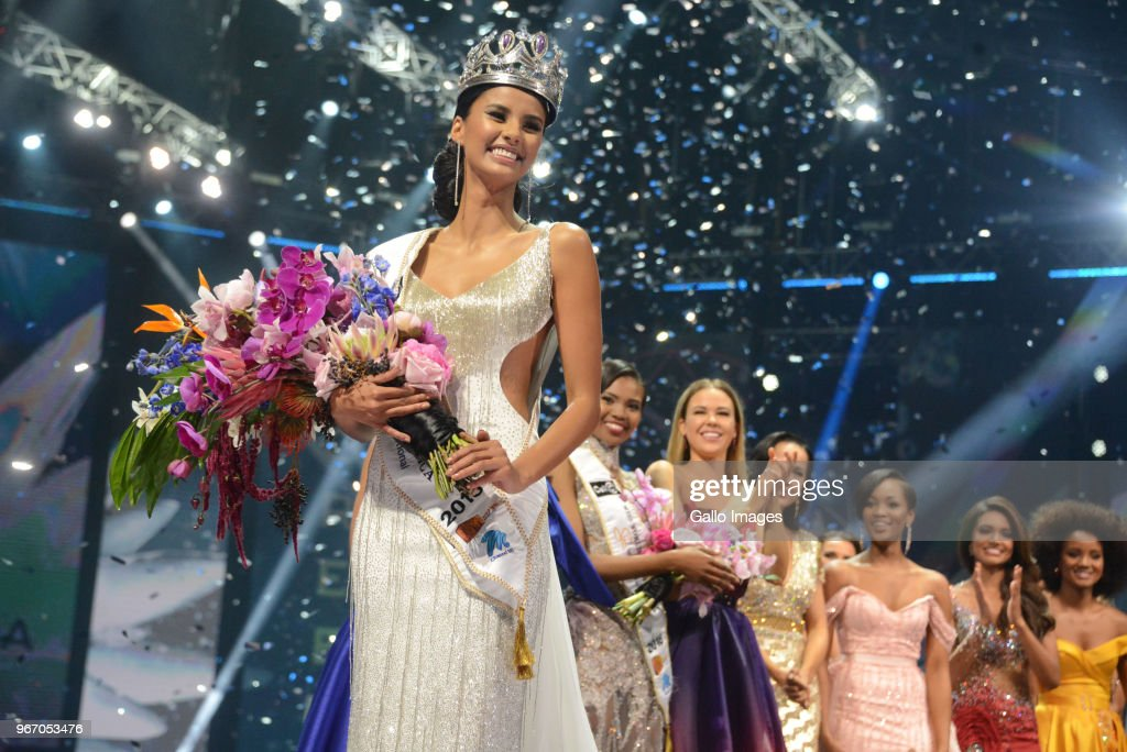 Miss South Africa 2018 : News Photo