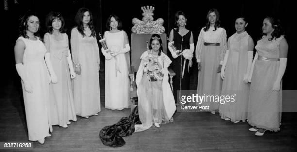 Miss Senorita Raza and Court Crowned Charlotte Gonzalez daughter of Mr and Mrs Radolfo Gonzales Saturday was crowned 'Miss Senorita Raza' in...