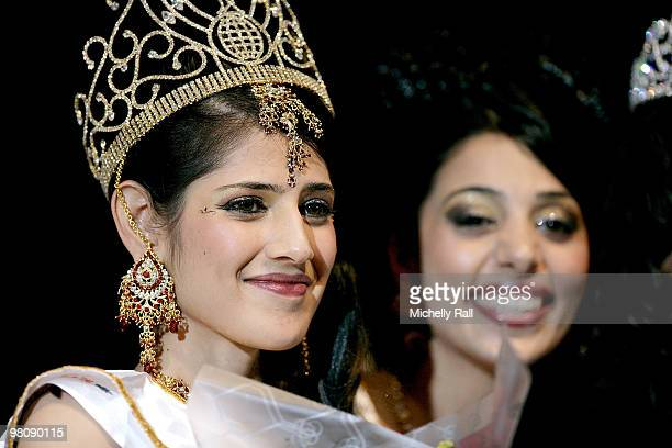 Miss South Africa Kajal Luthchminarain is crowned Winner of the Miss India Worldwide 2010 at the Durban International Convention Centre on March 27...