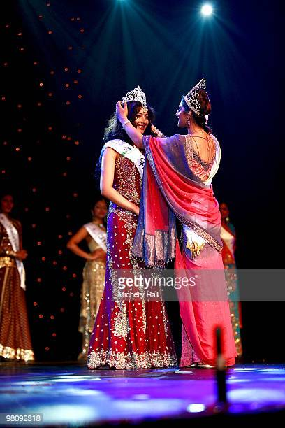 Miss South Africa Kajal Luthminarain is crowned Winner of the Miss India Worldwide 2010 at the Durban International Convention Centre on March 27...