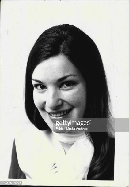 """Miss South-West,"""" Suzanne Cattle 21, Wagga Wagga. October 9, 1972. ."""