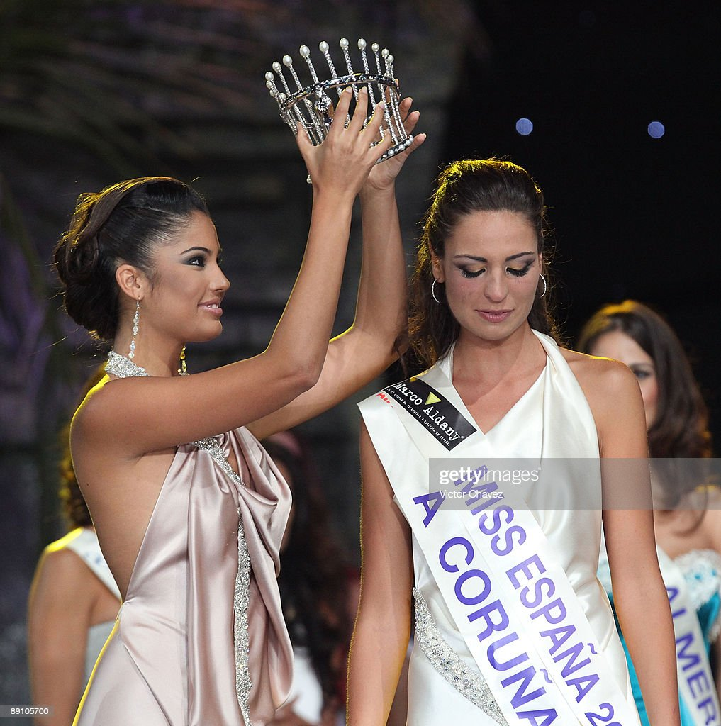 2009 Miss Spain Pageant - Show : News Photo