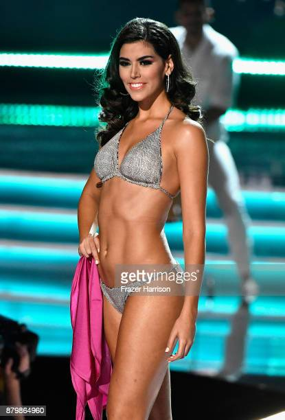 Miss Spain 2017 Sofia del Prado competes in the swimsuit competition during the 2017 Miss Universe Pageant at The Axis at Planet Hollywood Resort...