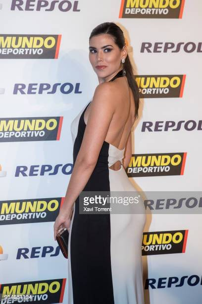 Miss Spain Sofía del Prado attends the photocall of the 70th Mundo Deportivo Gala on February 5 2018 in Barcelona Spain