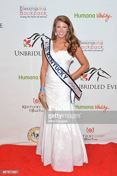 Miss Teen Kentucky United States 2014 Bayli Boling attends the 2014 Unbridled Eve Derby Gala during the 140th Kentucky Derby at Galt House Hotel...