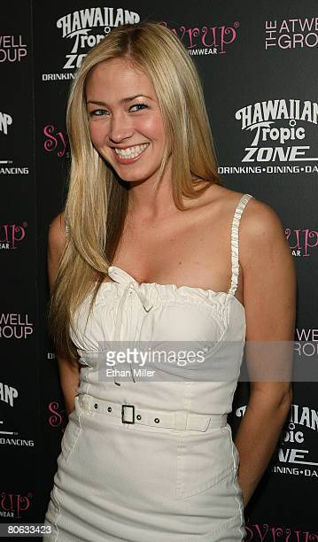 Miss Teen USA 2003 Tami Farrell arrives at the Fashion Rocks the Universe fashion show at the Hawaiian Tropic Zone inside the Planet Hollywood Resort...
