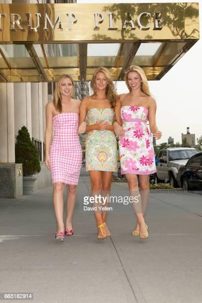 LR Miss Teen USA 2003 Tami Farrell Miss Universe 2004 Jennifer Hawkins and Miss USA 2004 Shandi Finnessey