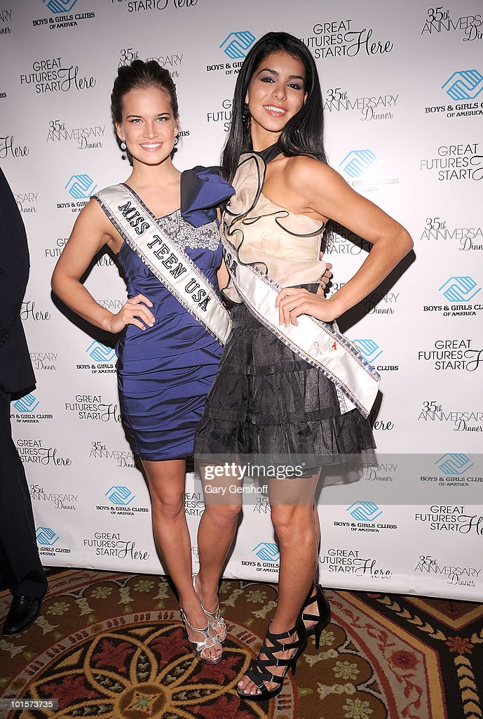 Miss Teen USA Stormi Bree Henley (L) and Miss USA Rima Fakih attend the 2010 Boys and Girls Clubs of America's Chairman's Gala at The Waldorf Astoria on June 2, 2010 in New York City.