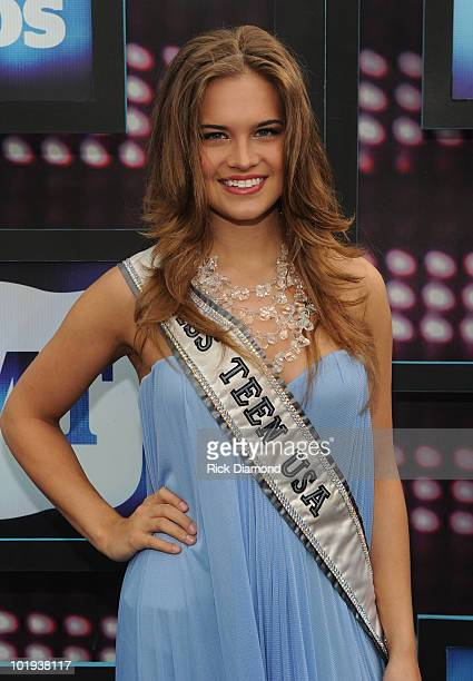 Miss Teen USA Stormi Henley attends the 2010 CMT Music Awards at the Bridgestone Arena on June 9 2010 in Nashville Tennessee