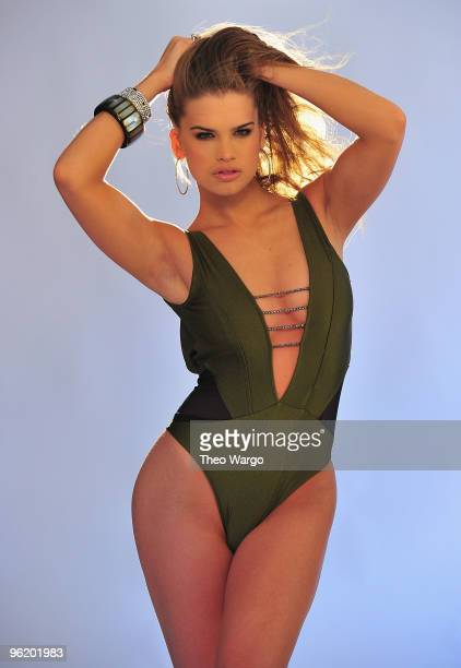 Miss Teen USA Stormi Henley during offical Miss Universe Organization photo shoot with Fadil Berisha on January 26 2010 in New York City