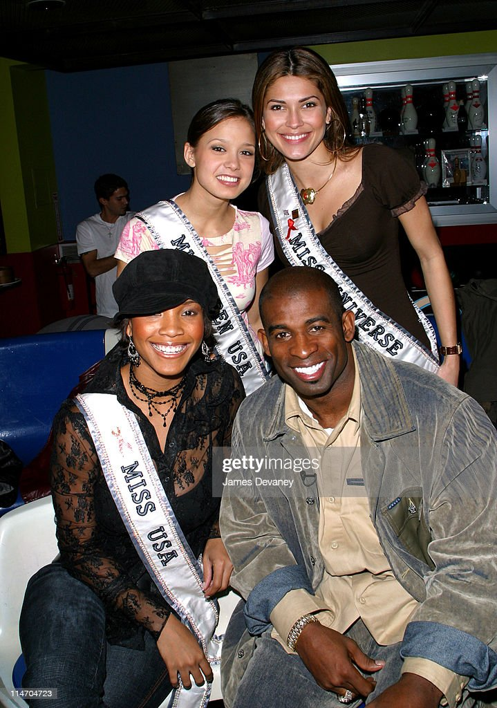 Miss Teen USA Vanessa Marie Semrow Celebrates her 18th birthday with Miss Universe Justine Pasek, Miss USA Shauntay Hinton and Deion Sanders