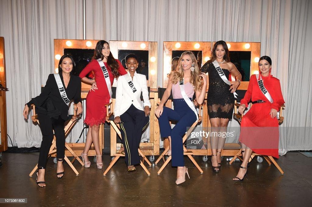 "CA: FOX's ""2018 Miss Universe"" - Rehearsals"