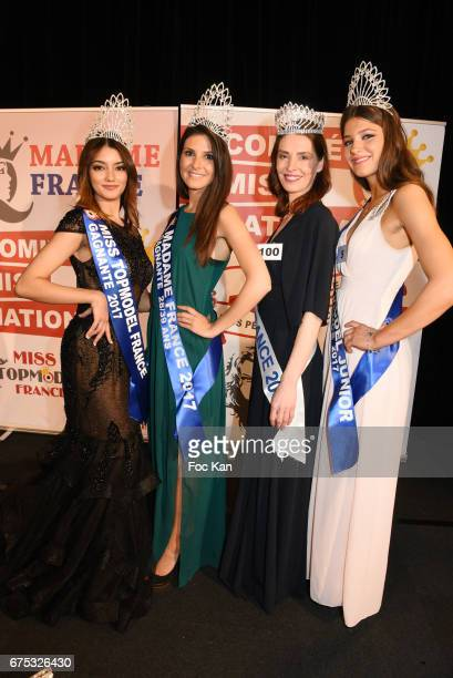 Miss Top model France Sana Mahdjour, Madame France 28/39 years old Sabrina Dutranois, Madame France 2017 All Category Tatiana Reiman and Miss Top...