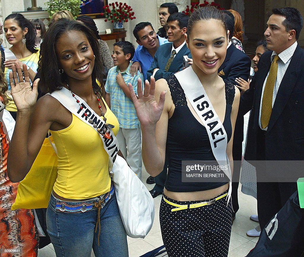 Miss Trinidad and Tobago Danielle Jones : News Photo