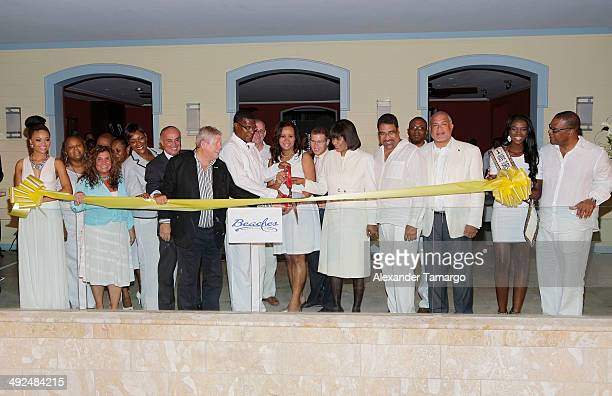 Miss Turks Caicos 2013 Swenua Adams Invited Guest of Beaches Turks Caicos Emma Cinque Vice President of the American Academy of Hospitality Sciences...
