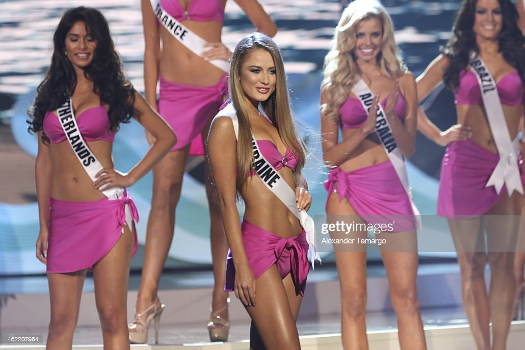 The 63rd Annual Miss Universe Pageant - Show : News Photo