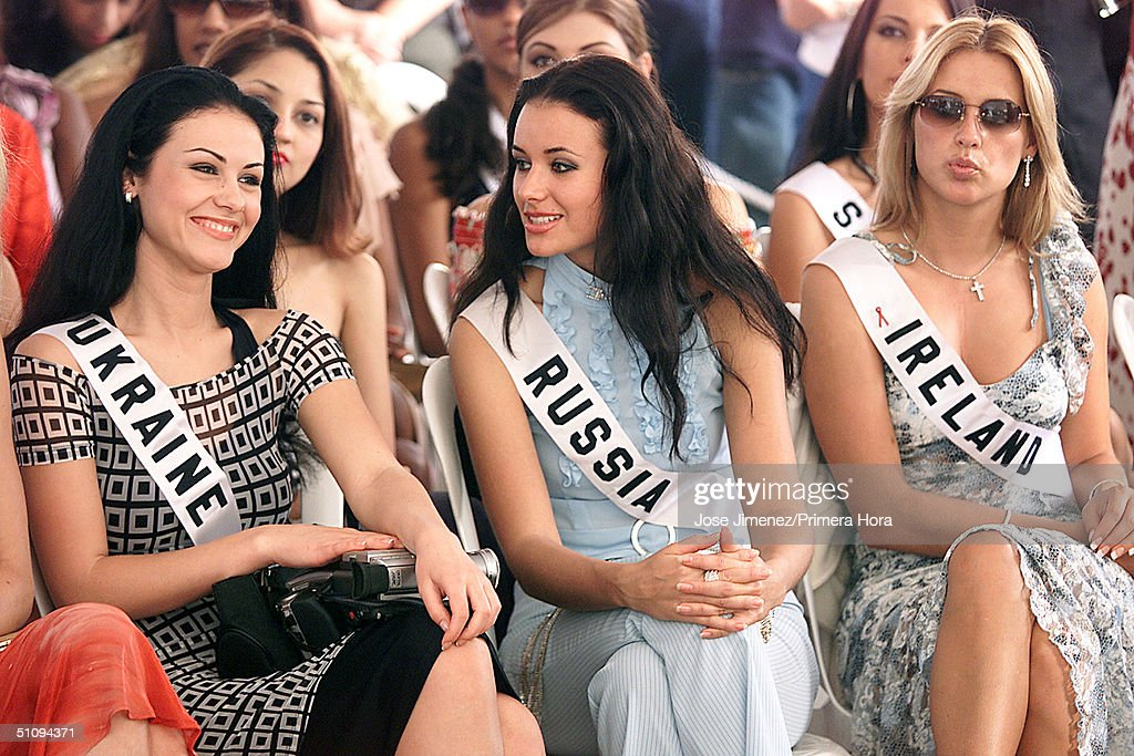 Image result for photos of Miss Russia Oxana Fedorova