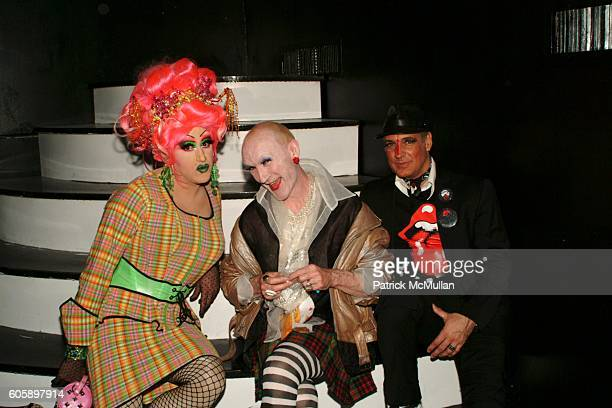 Miss Understood Lavinia CoOp and Steven Bocks attend AMANDA LEPORE DOLL After Party at Happy Valley on April 11 2006 in New York City