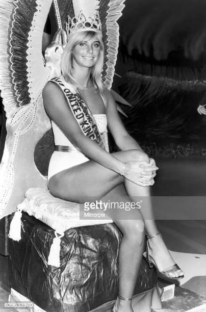 Miss United Kingdom 1982 Della Dolan. 25th August 1982.
