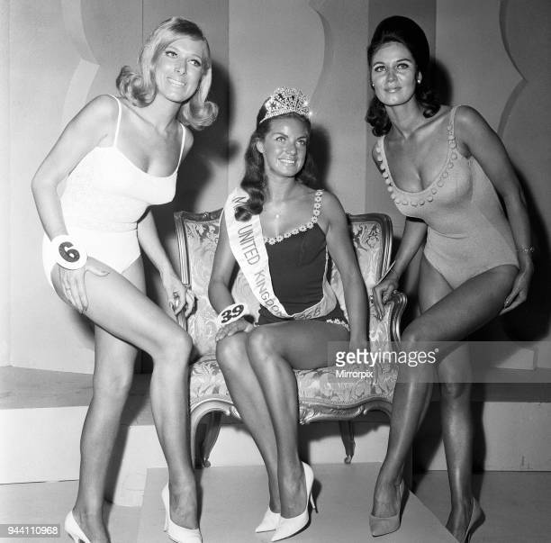 Miss United Kingdom Grand Final, Blackpool. The winner, was Miss Wigan, Kathleen Winstanley, 22. In second place, Marie Smith of Glasgow and third,...