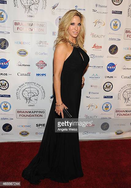 Miss United Nation International 2014 Carla Gonzalez attends Society For Brain Mapping And Therapeutics 12th Annual World Congress Black Tie Gala at...