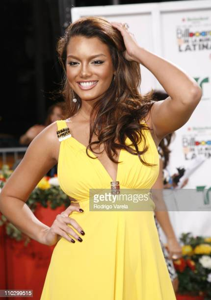 Miss Universe 2006 Zuleyka Rivera during Billboard Latin Music Conference and Awards 2007 Arrivals at Bank United Center in Coral Gables Florida...