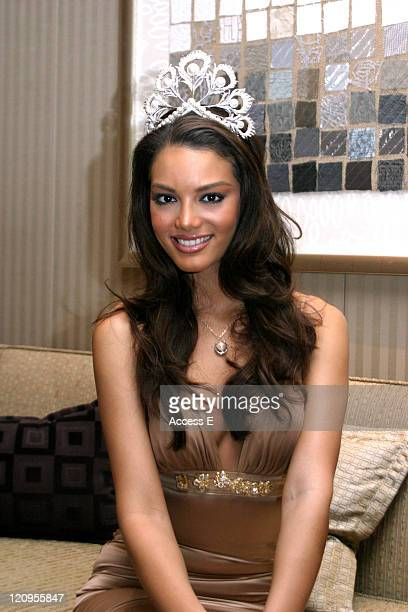 Miss Universe 2006 Zuleyka Rivera Mendoza during Miss Universe 2006 Zuleyka Rivera Mendoza Attends 'American Academy of Hospitality Sciences' Star...
