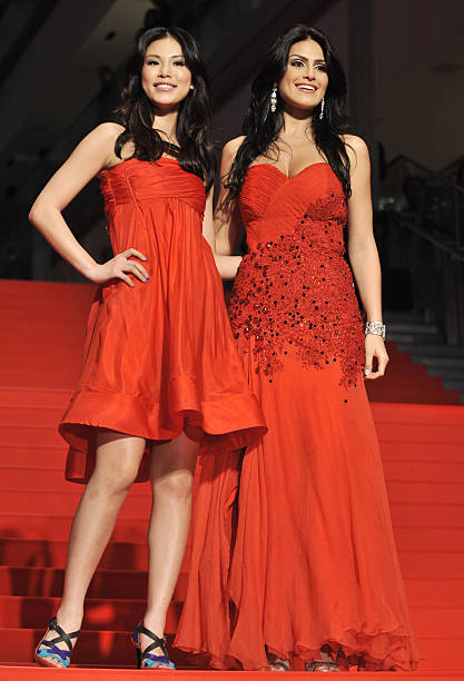 Miss Universe 2007 Riyo Mori (L) of Japa Pictures | Getty Images