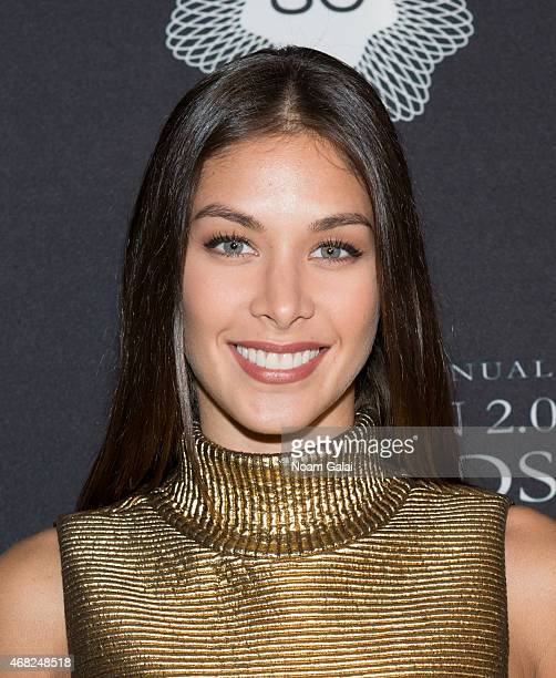 Miss Universe 2008 Dayana Mendoza attends the 2015 Fashion 20 Awards at Merkin Concert Hall on March 31 2015 in New York City
