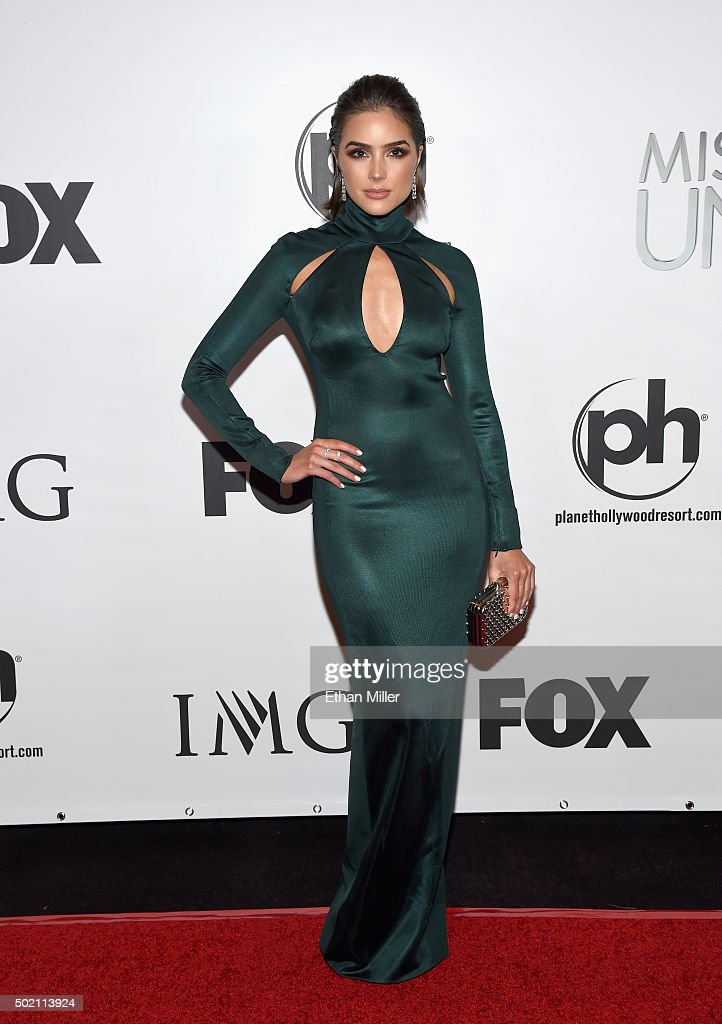 Miss Universe 2012 and pageant judge Olivia Culpo attends the 2015 Miss Universe Pageant at Planet Hollywood Resort & Casino on December 20, 2015 in Las Vegas, Nevada.