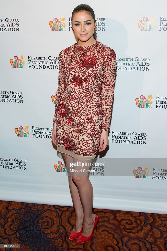 Miss Universe 2012 Olivia Culpo attends Global Champions Of A Mother's Fight Awards Dinner at Mandarin Oriental Hotel on February 20, 2013 in New York City.