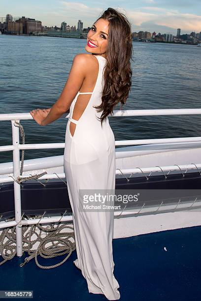 Miss Universe 2012 Olivia Culpo attends her 21st Birthday Celebration at World Yacht The Duchess on May 8 2013 in New York City