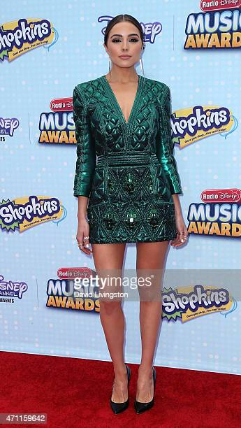 Miss Universe 2012 Olivia Culpo attends the 2015 Radio Disney Music Awards at Nokia Theatre LA Live on April 25 2015 in Los Angeles California