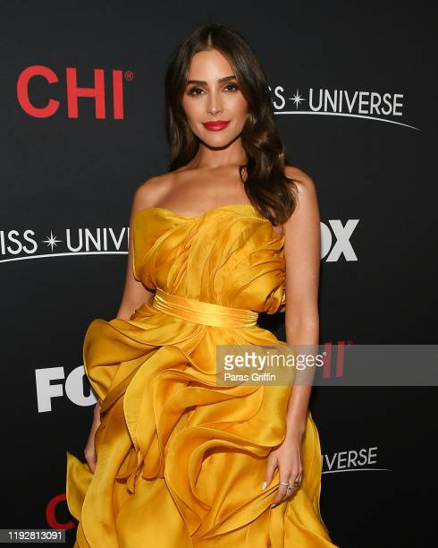 Miss Universe 2012 Olivia Culpo attends the 2019 Miss Universe Pageant at Tyler Perry Studios on December 08, 2019 in Atlanta, Georgia.