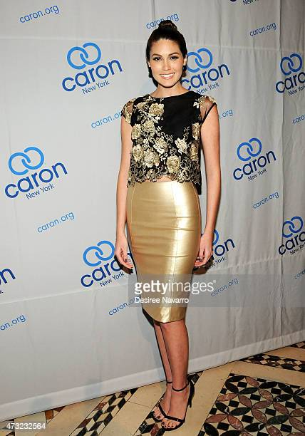 Miss Universe 2013 Gabriela Isler attends 2015 Caron Treatment Centers NYC Gala at Cipriani 42nd Street on May 13 2015 in New York City