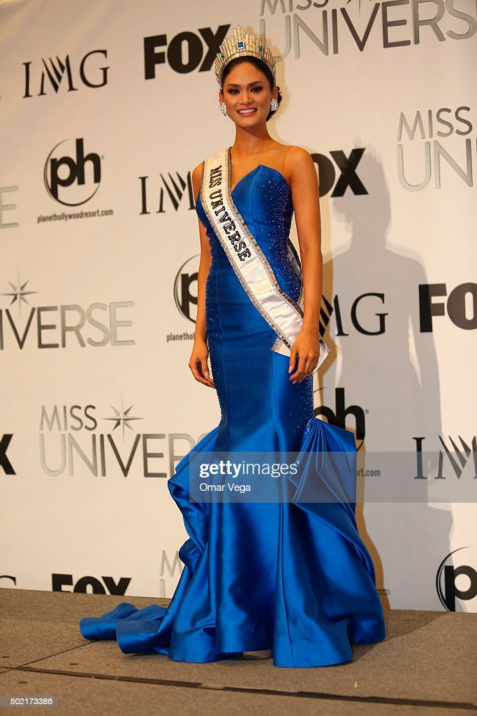 Miss Universe 2015, Pia Alonzo Wurtzbach from Philippines during the Press Conference of The 64th Annual Miss Universe Pageant at The Axis, Planet Hollywood Resort & Casino on December 20, 2015 Las Vegas, United Sates.