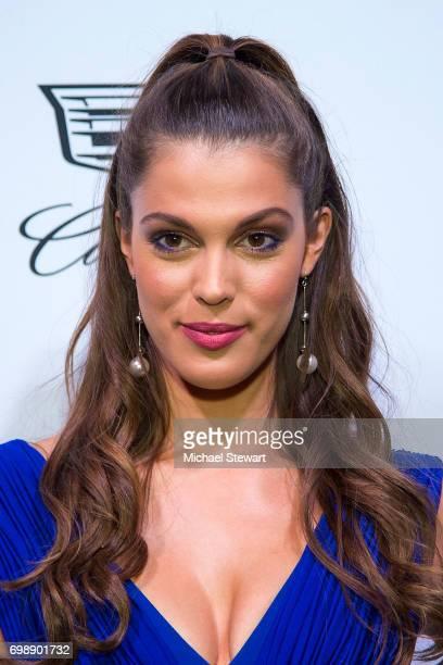 Miss Universe 2016 Iris Mittenaere attends amfAR generationCURE Solstice 2017 at Mr Purple on June 20 2017 in New York City