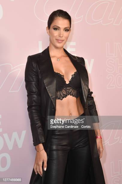 Miss Universe 2016 Iris Mittenaere attends the Etam Womenswear Spring/Summer 2021 show as part of Paris Fashion Week on September 29, 2020 in Paris,...