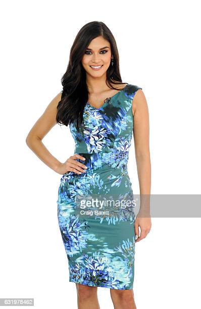 Miss Universe 2016 Pia Wurtzbach appears on Amazon's Style Code Live on January 9 2017 in New York City