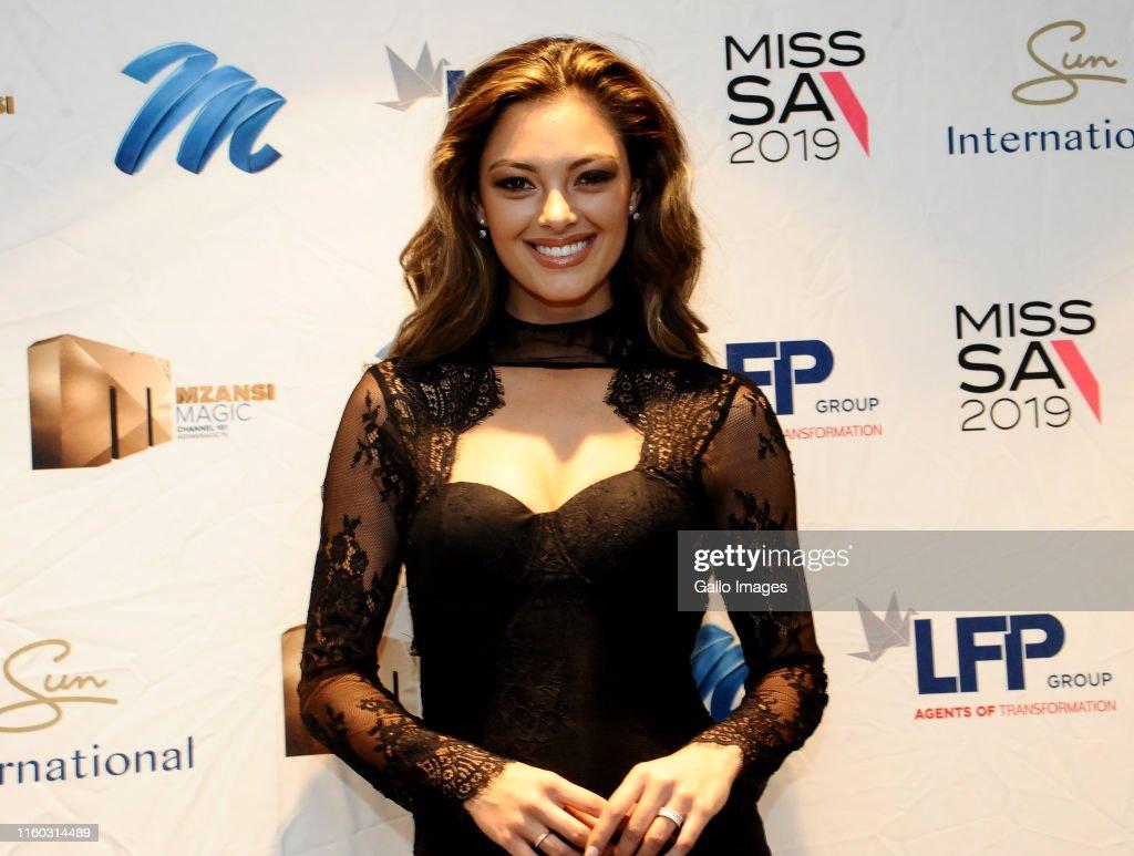 Miss SA 2019 press conference : News Photo