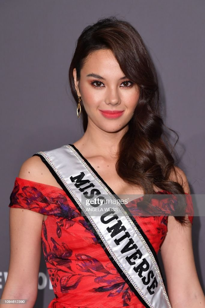 miss universe 2018 durante amfar gala new york 2019. Miss-universe-catriona-gray-arrives-to-attend-the-amfar-gala-new-york-picture-id1094612390