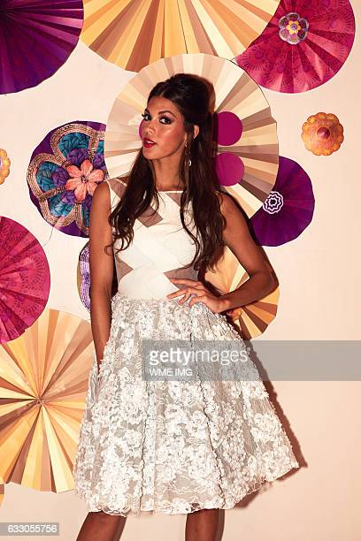 Miss Universe France Iris Mittenaere visits Okada Manila in the Philippines on January 21 2017 Miss France was crowned as the new Miss Universe 2016...