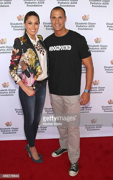 Miss Universe Gabriela Isler and Photographer Nigel Baker attends Elizabeth Glaser Pediatric AIDS Foundation's Kids 4 Kid Family Festival at Chelsea...