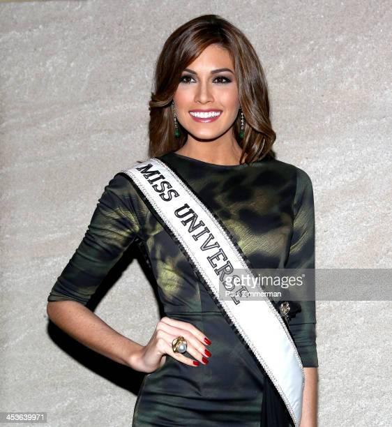Rockefeller Christmas Tree Lighting 2014: Miss Venezuela Stock Photos And Pictures