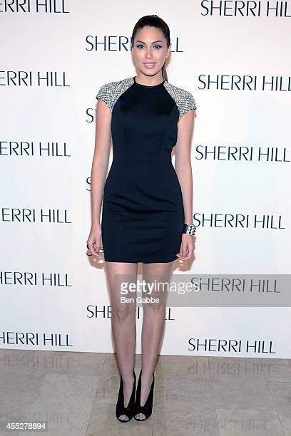 Miss Universe Gabriela Isler attends the Sherri Hill Fashion Show during MercedesBenz Fashion Week Spring 2015 on September 11 2014 in New York City