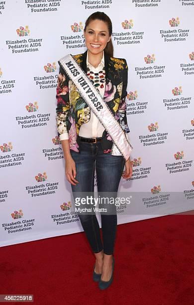 Miss Universe Gabriela Isler Elizabeth Glaser Pediatric AIDS Foundation's Kids 4 Kid Family Festival at Chelsea Piers Field House on September 27...