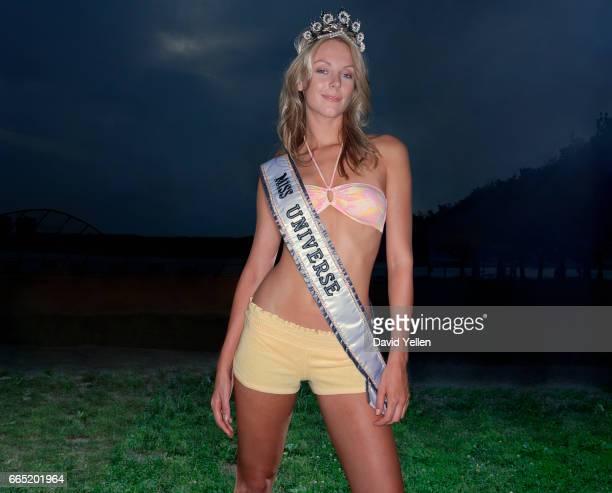 Miss Universe Jennifer Hawkins