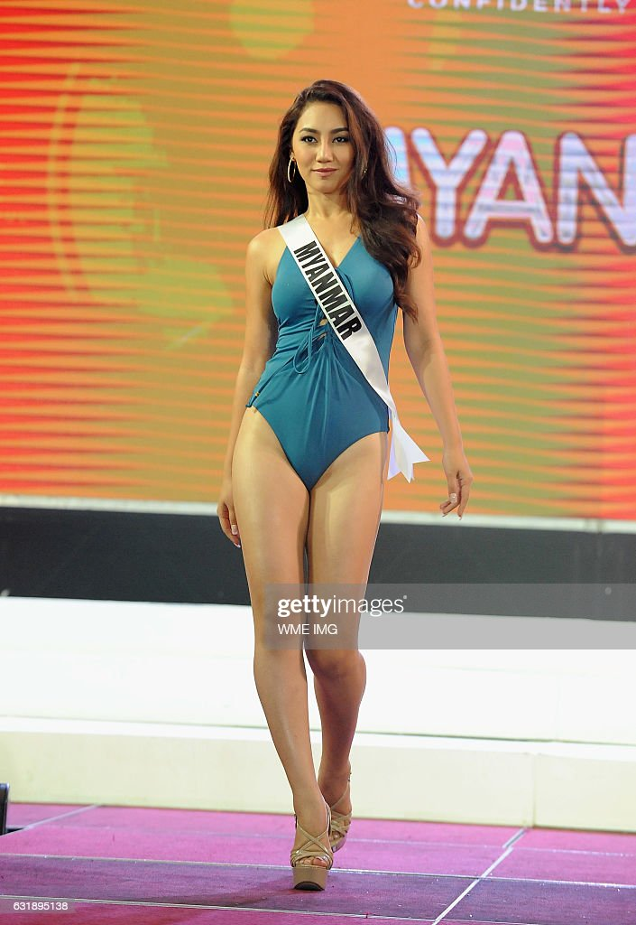 65th Miss Universe Competition - Swimsuit Competition Held In Cebu : News Photo