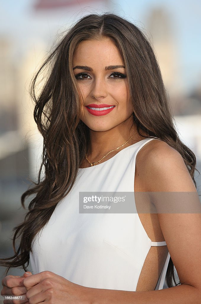 Miss Universe Olivia Culpo attends Miss Universe, Olivia Culpo 21st Birthday Celebration Aboard The World Yacht at World Yacht Marina on May 8, 2013 in New York City.